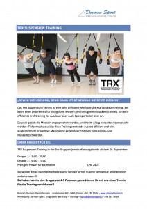 TRX Suspension Training D Kopie